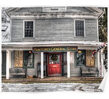 Monterey General Store Poster