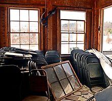 Folding Chairs by Geoffrey Coelho