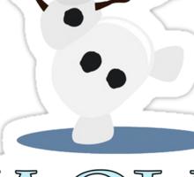 Warm Hugs Sticker