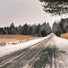 Cold Spring Road in Winter by Geoffrey Coelho