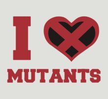 I Heart / Love Mutants by Pikachunicorn