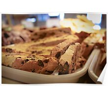Chocolate Chip Biscotti Poster