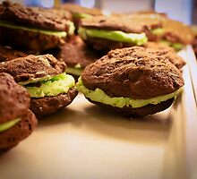 Mint Chocolate Chip Cookies by Tara Brandau