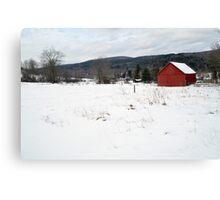 Cobble Mountain Barn No. 2 Canvas Print