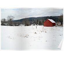 Cobble Mountain Barn No. 2 Poster