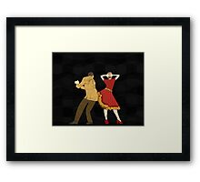 Free Style Dance Party Framed Print