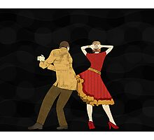 Free Style Dance Party Photographic Print