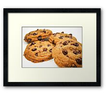 Chocolate Chip Cookies! Framed Print