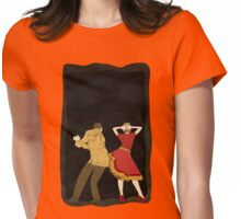 Free Style Dance Party Womens Fitted T-Shirt