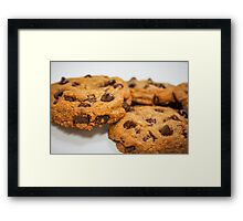 Chocolate Chip Cookies!!! Framed Print