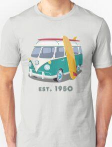 Volkswagen Bus Van Surfer 1950 T-Shirt