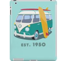 Volkswagen Bus Van Surfer 1950 iPad Case/Skin