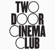 Two Door Cinema Club Sticker by rebeccab27