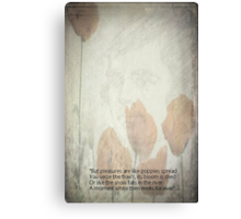 Text from Tam o'Shanter Canvas Print