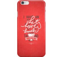 Let's have lunch iPhone Case/Skin