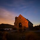 Sunset at the Church of the Good Shepherd by Liam Robinson