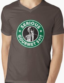 Some Serious Gourmet Coffee (clean) Mens V-Neck T-Shirt