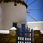 bed and breakfast windmill on Mykonos  by KSKphotography