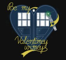 Be my Valentimey-wimey? Kids Tee