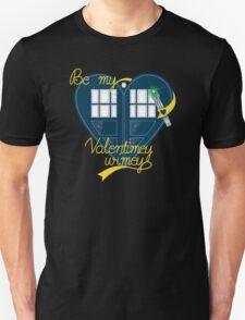 Be my Valentimey-wimey? Unisex T-Shirt