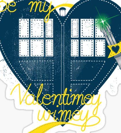 Be my Valentimey-wimey? Sticker