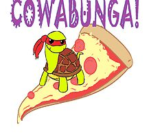 tmnt Raphael pizza by NargleSlayer