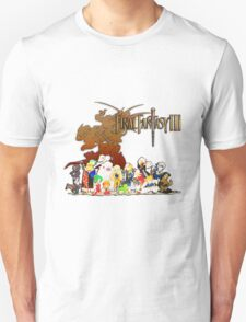 Final Fantasy 3 Design T-Shirt