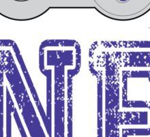 SNES University Sticker