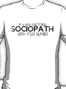 Sherlock-With Your Number T-Shirt