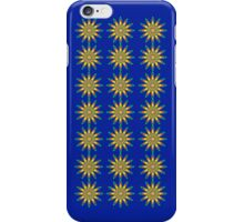 Flowerful (Blue) iPhone Case/Skin