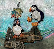 Huffin' & Puffin by Alma Lee by Alma Lee