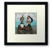 Huffin' & Puffin by Alma Lee Framed Print