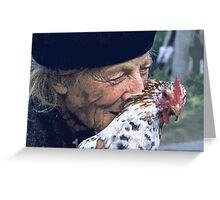 Portraits : BEST Marie, kindness au Naturel,  version 11 color  collector  1977  11  (c)(h) by Olao-Olavia / Okaio Créations Greeting Card