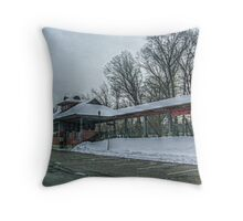 """Floyd"" Train Station for City Hall Movie Throw Pillow"