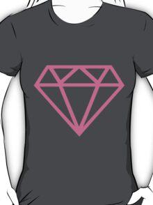 pink diamond T-Shirt