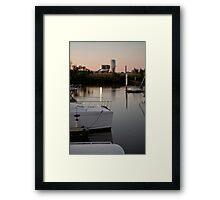Evening Stillness #2 Framed Print