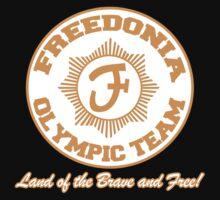 Freedonia Olympic Team by clockworkmonkey