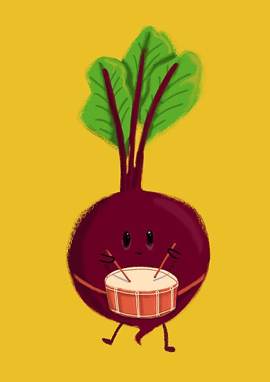 Drum Beat Beet by Choma House