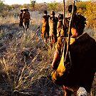 San Bushman - Kalahari Desert by MacLeod