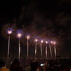 Fireworks Australia Day Perth by Peter Whitworth