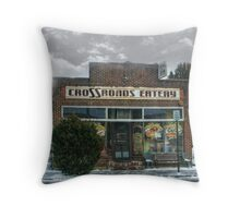 The CroSSroads Eatery, Mountain View Throw Pillow