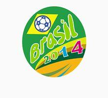 Brasil 2014 Soccer Football Ball Oval Unisex T-Shirt