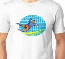 Goalie Soccer Football Player Retro Unisex T-Shirt
