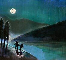 Moonlight Monsters II by Tiffany Dow