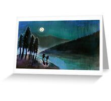 Moonlight Monsters II Greeting Card