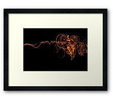 Fire Flies Framed Print