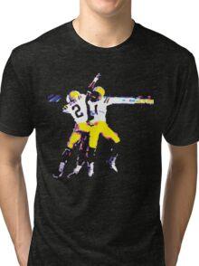 LSU Football Tee Tri-blend T-Shirt