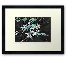 Flowers N Petals Framed Print