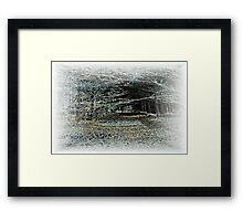 Magic Wood Framed Print