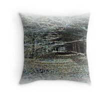 Magic Wood Throw Pillow